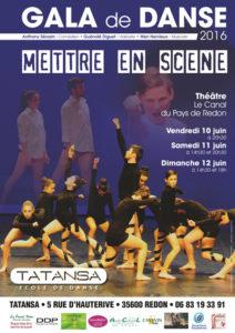 Affiche Tatansa gala 2016